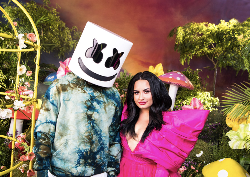 Marshmello and Demi Lovato team up on new mental health awareness song 'OK Not to Be OK' 1 MUGIBSON WRITES