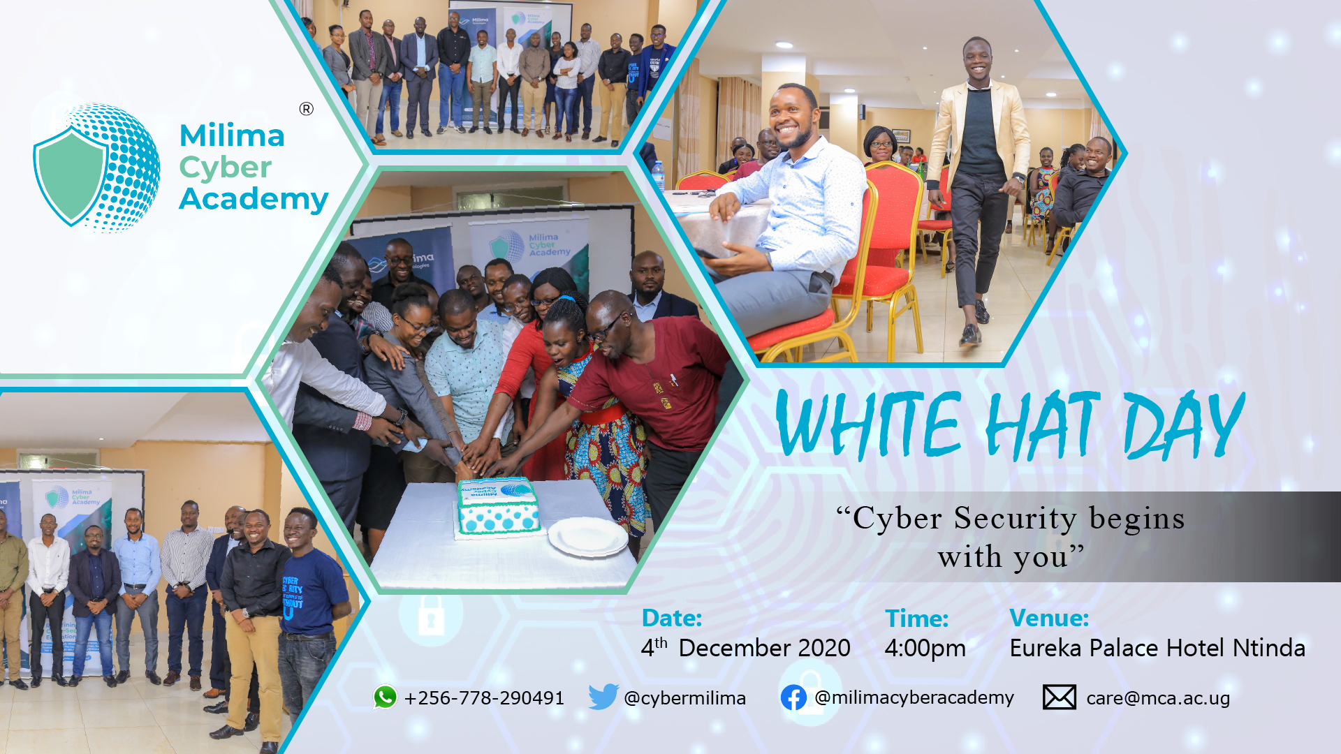 Milima Cyber Academy's White Hat Day 2020 set for Friday this week 1 MUGIBSON WRITES
