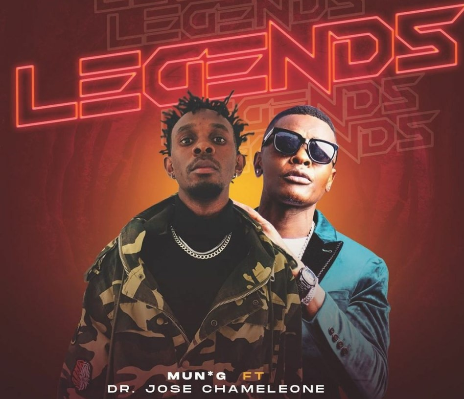 Mun G and Jose Chameleone reunite on 'Legends' 1 MUGIBSON WRITES