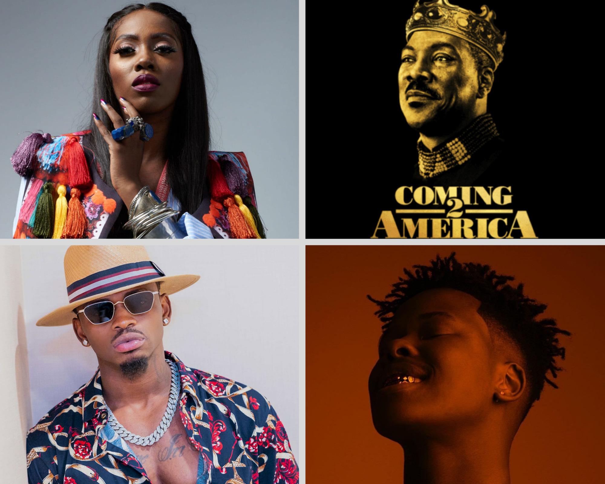 Def Jam unwraps 'Coming 2 America' Compilation Album Tracklist featuring Nasty C, Tiwa Savage, Diamond Platnumz & more