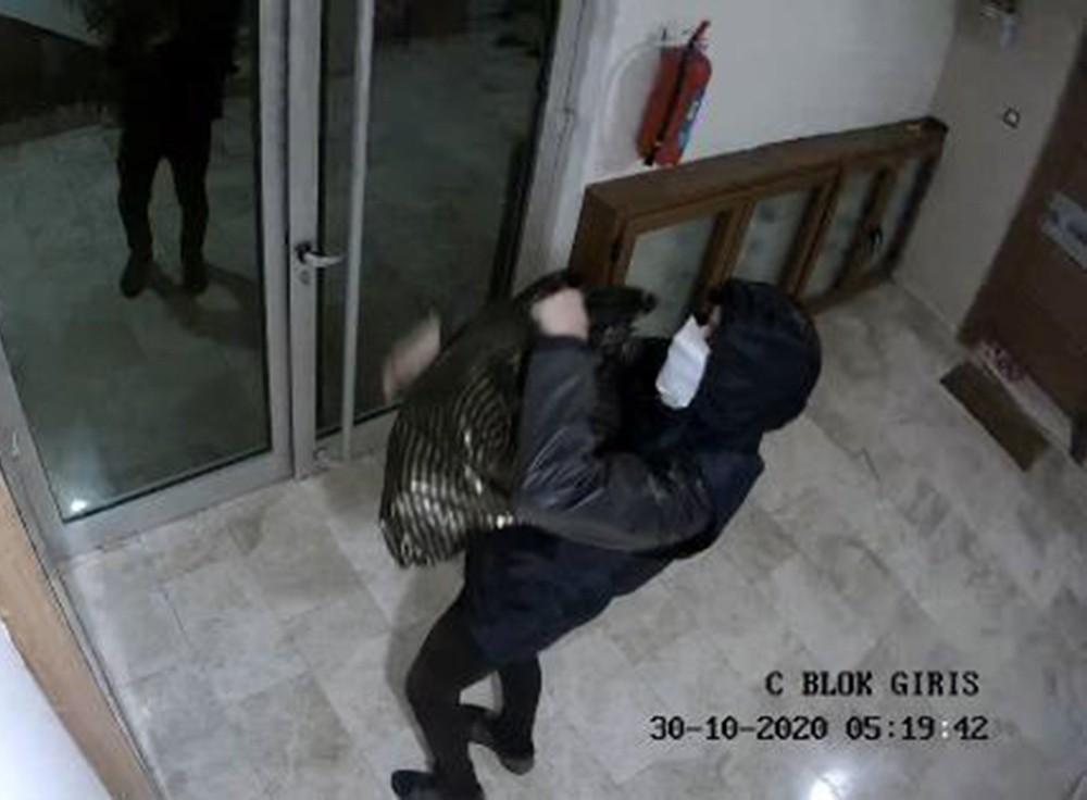 Ayakkabı hırsızı tutuklandı