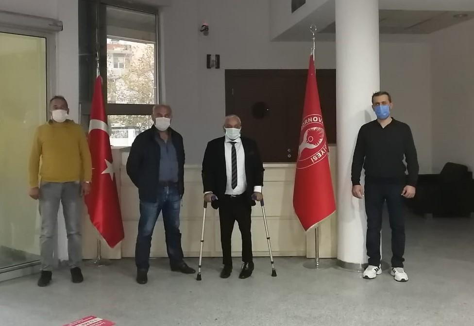 Marmaris'ten depremzede engellilere destek