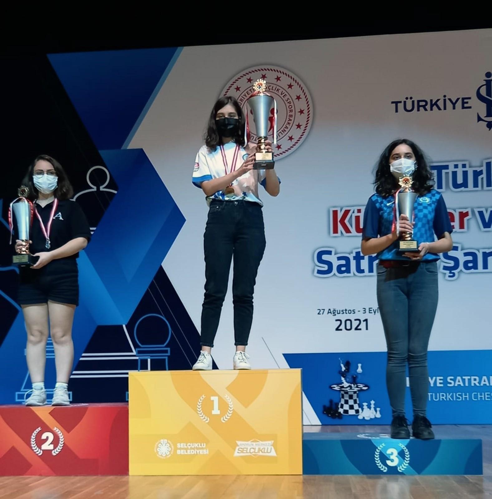 Büyükşehir satranççısı dünya şampiyonasında Türkiye'yi temsil edecek