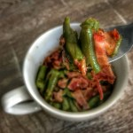 lower calorie arkansas green beans