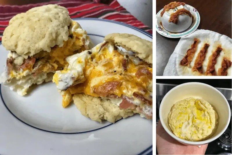 Techniques, ingredients, and cook times for microwaving eggs and bacon without turning them into rubber. Plus, 3 ingredient combos like fajita eggs and BEC.