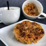 pumpkin spice protein pancake bowl