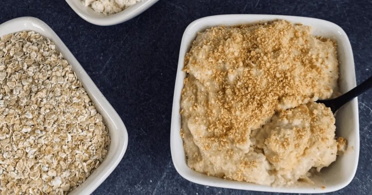 Salted Caramel Cheesecake Protein Oatmeal