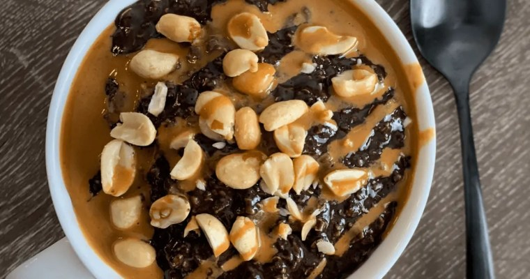 High Protein Snickers Oatmeal