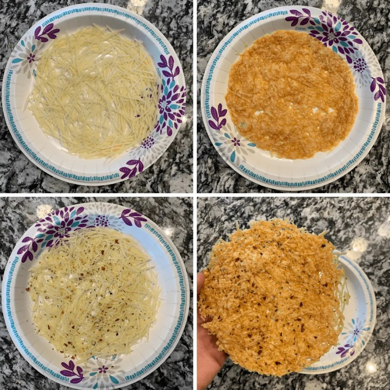 how to make low carb pizza crust in the microwave