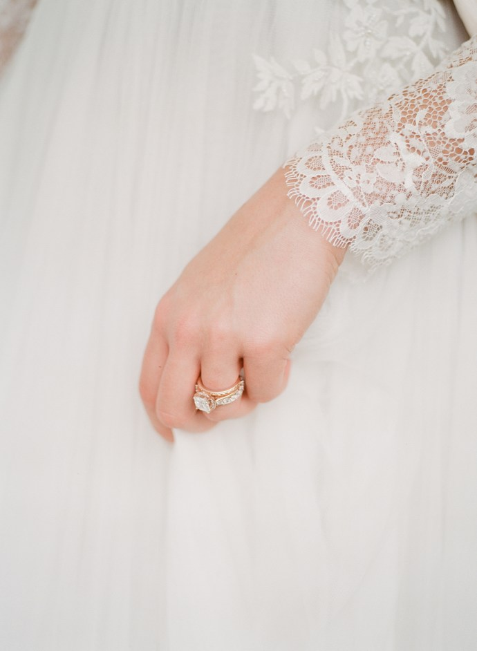 Toronto fine art film wedding photographer Muguet Photography | Estates at Sunnybrook bridals