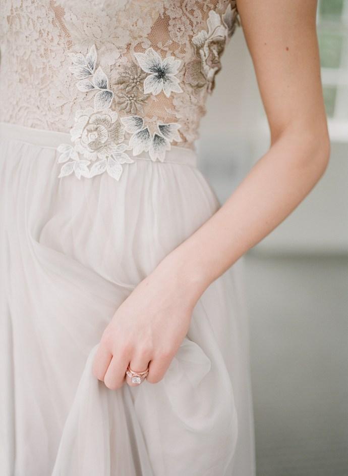 Toronto fine art film wedding photographer Muguet Photography | Estates at Sunnybrook bridals