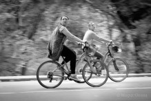 Distracted cycling