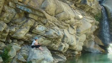 DSC09810 Santa Paula Canyon 1st Waterfall