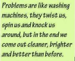 washing machine problem solving