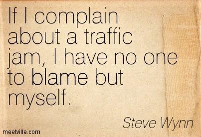 traffic complaint