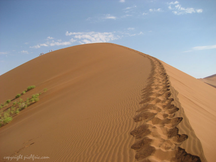 Tourism in Africa: Sand dunes
