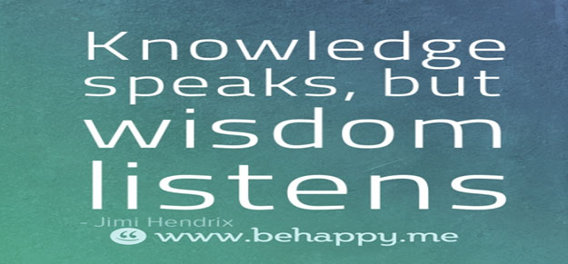 Success in business and in life requires a lot of wisdom