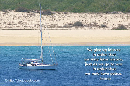 Quotes about leisure