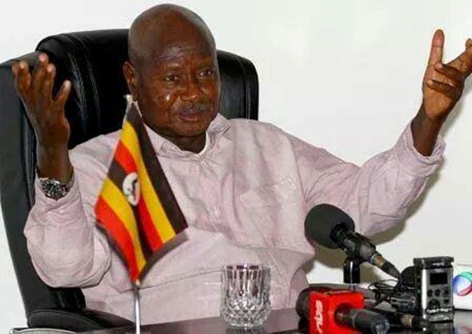 President  Museveni  counted  in  2014 census  which has just kicked off
