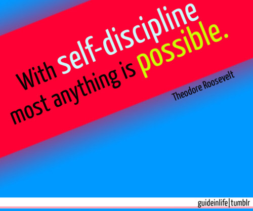 Inspiring quotes about self discipline