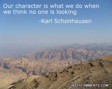Inspiring Quotes about Character