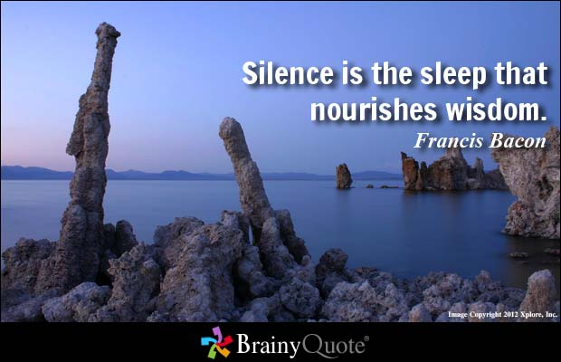 Inspiring Quotes about Silence