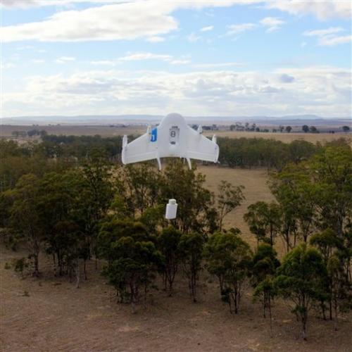Innovation at its best: Google building fleet of package-delivering drones