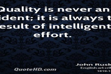 Quality can make a difference in your business