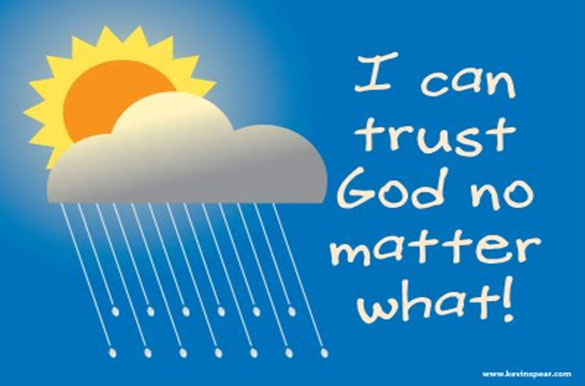 Lord my trust is in you