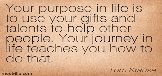 Use your gift and talents for your success