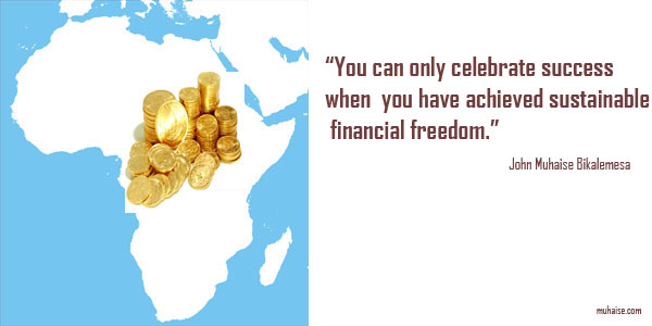 Africans need financial freedom