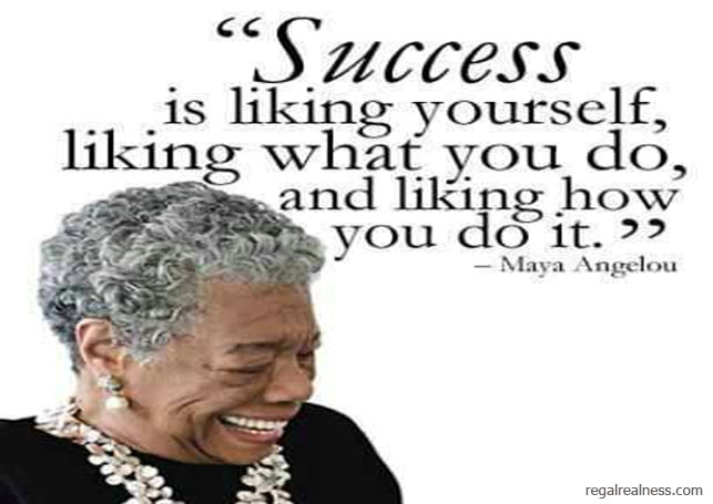What have successful women said?