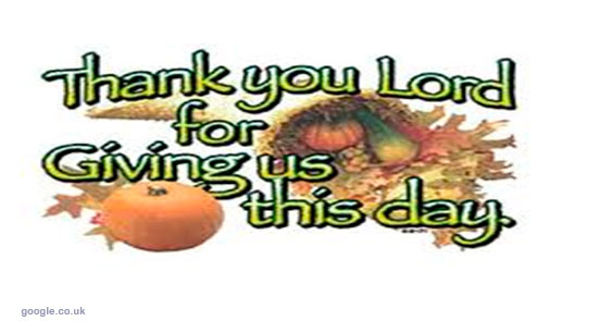 My Lord thank you for the day