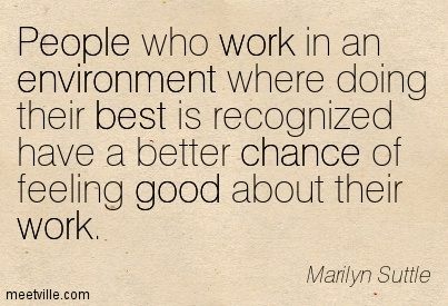 Developing a positive work environment