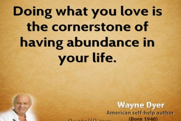 You must love what you do in order to succeed in life