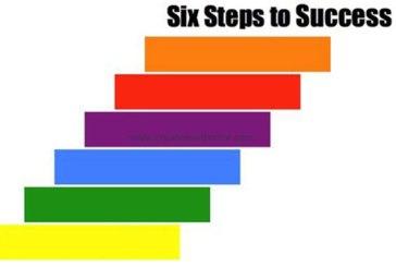 6 steps to achieve success
