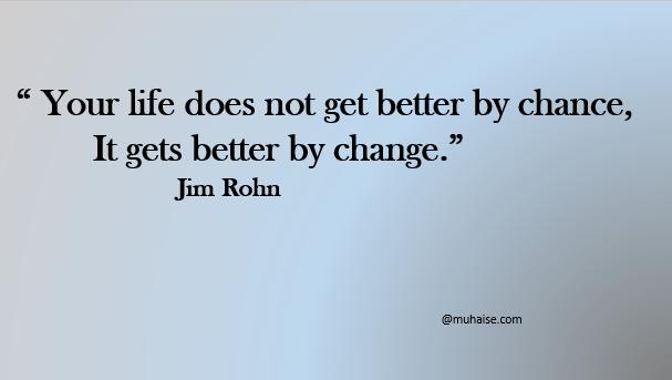 Life and change