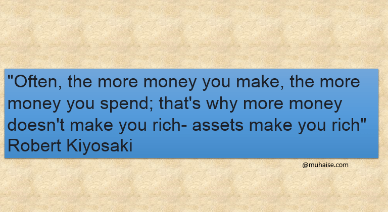 The more money you make