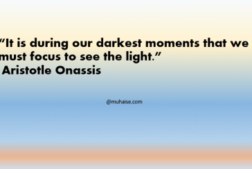 Focus to see the light