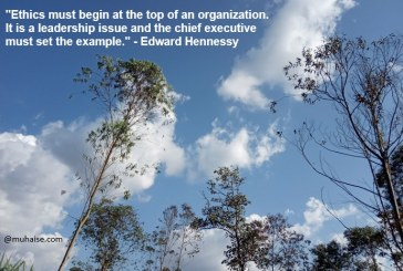 Ethics of an organisation