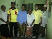 Bersama orang tua imam Grati