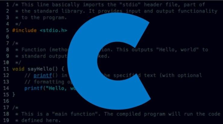 C Programlama dili logo