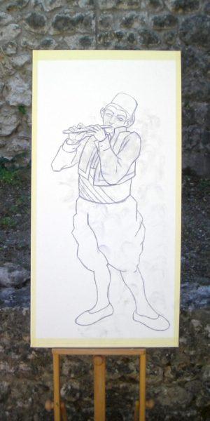 62% Poster Boy (Cropped) – The Young Bosniak Flautist -work in progress-