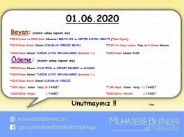 Mayis 2020 hatirlatma son gun 2