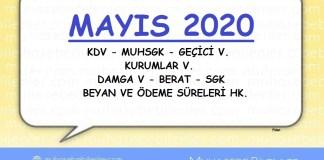 Mayis 2020