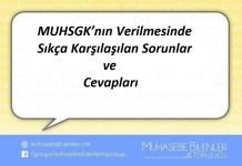 MUHSGK'nın Verilmesinde Sıkça Karşılaşılan Sorunlar ve Cevapları