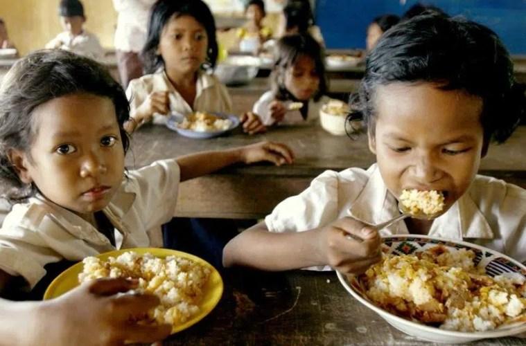 alimentos desperdicio niños