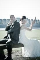 Warum nicht auch mal cool sein am Hochzeitstag