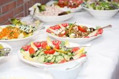 Ein gesundes Buffet sollte am Hochzeitstag nicht fehlen