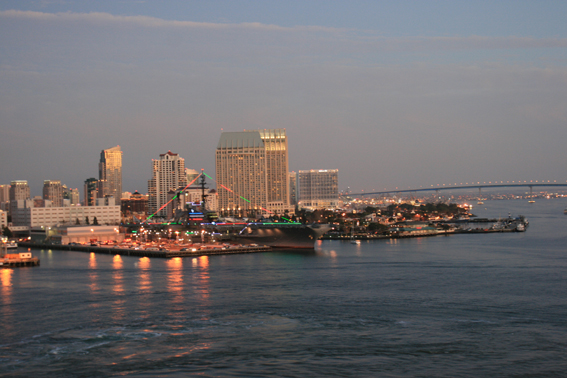San Diego, bezoek